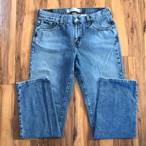 Levi's 505 Low Straight Jeans